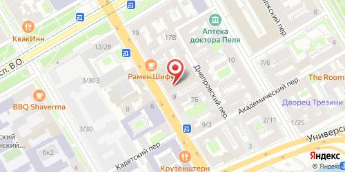 Ресторан Brasserie Repin / Брассерия Репин, Санкт-Петербург, 8-я линия В.О., 11 (Гостиница Sokos Hotel Vasilievsky)
