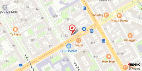 Ресторан Deep / Дип, Санкт-Петербург, Средний пр. В.О., 13
