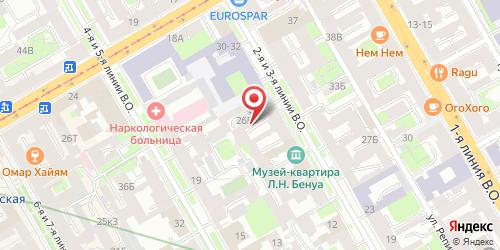 Кафе-бар Деметра, Санкт-Петербург, 3-я линия В.О., 24