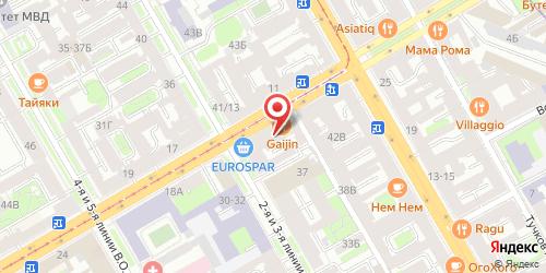 Ресторан Две палочки, Санкт-Петербург, Средний пр. В.О., 16