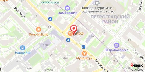Ресторан Стейк Хаус - 3, Санкт-Петербург, Большая Зеленина ул., 31