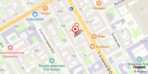 Гранд-кафе Очаг, Санкт-Петербург, 1-я линия В.О., 34