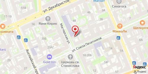 Ресторан Матвей, Санкт-Петербург, Мастерская ул., 8