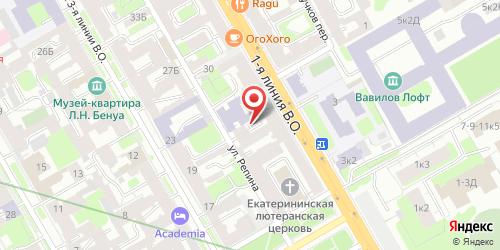 Блинная Блины от Купидона, Санкт-Петербург, 1-я линия В.О., 24