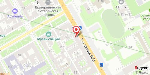 Клуб Ф-34, Санкт-Петербург, 1-я линия В.О., 16