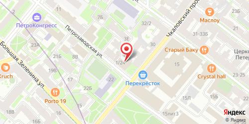 Ресторан Верона, Санкт-Петербург, Петрозаводская ул., 1