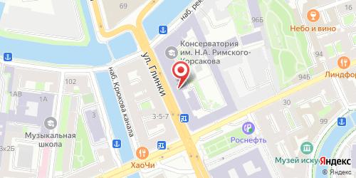 Театро Кафе (Teatro Cafe), Санкт-Петербург, Глинки ул., 2
