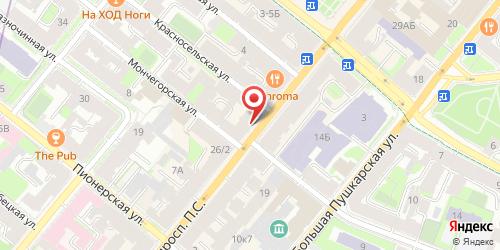 Бар Заправка, Санкт-Петербург, Большой пр. П.С., 28