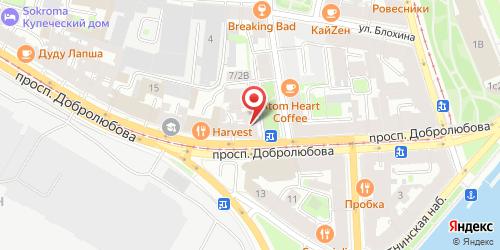 Ресторан Евразия, Санкт-Петербург, Добролюбова пр., 7
