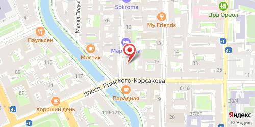 Кафе Золотые палочки, Санкт-Петербург, Подъяческая ул., 18