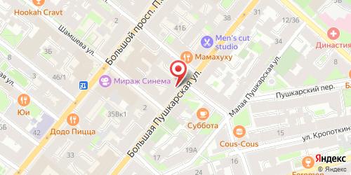 Ресторан Пивная Бочка, Санкт-Петербург, Большая Пушкарская ул., 30