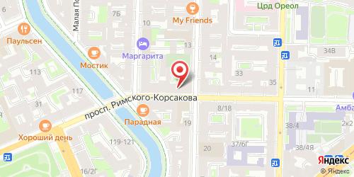 Кафе Lounge / Лаундж, Санкт-Петербург, Римского-Корсакова пр., 21
