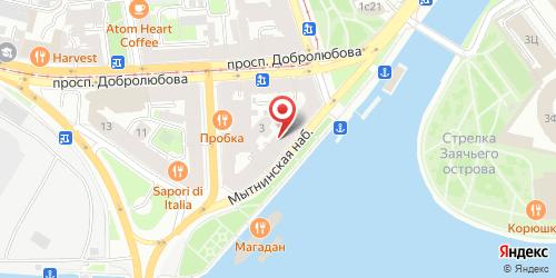 Ресторан Европа, Санкт-Петербург, Мытнинская наб., 4