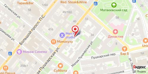 Интернет-кафе Пушка, Санкт-Петербург, Большая Пушкарская ул., 29