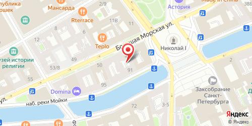 Ресторан Buddha Bar.Spb / Будда бар, Санкт-Петербург, Большая Морская ул.,46