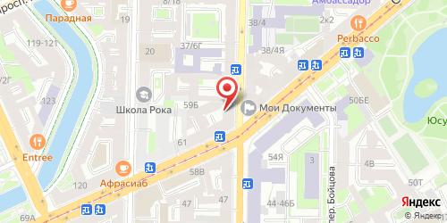 Белые ночи, Санкт-Петербург, Вознесенский пр., 43