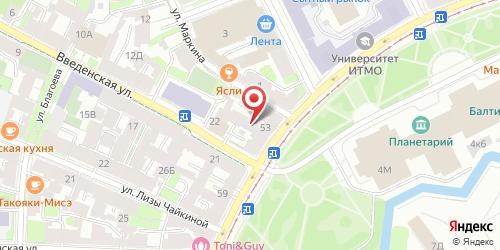 Кафе День и ночь, Санкт-Петербург, Кронверкский пр., 55 / 24