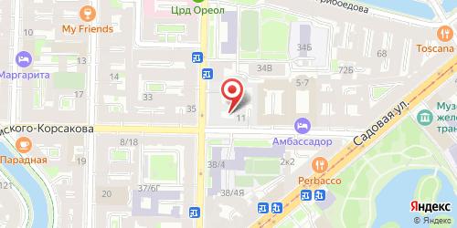 Кафе-бар Ривьера, Санкт-Петербург, Римского-Корсакова пр., 13/35