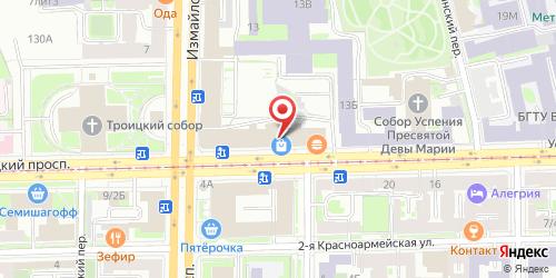 Fast Food Макдоналдс / McDonalds, Санкт-Петербург, 1-я Красноармейская ул., 15, литер А (ТК Гостиный двор Измайловский)