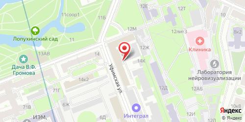 Кафе-ресторан Ажур, Санкт-Петербург, Академика Павлова ул., 14