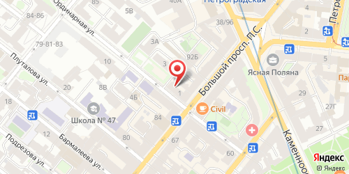 Кафе Лаймочка, Санкт-Петербург, Ординарная ул., 1