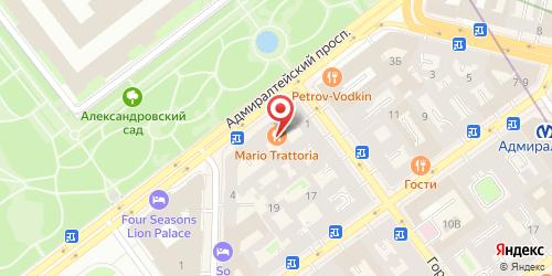 Ресторан У Мушкетера (Чешские пивницы), Санкт-Петербург, Адмиралтейский пр., 8