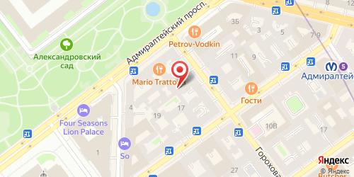 Бистро Русская забава (Престиж-отель), Санкт-Петербург, Гороховая ул., 3
