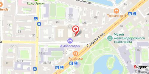 Ресторан Le Vernissage / Вернисаж, Санкт-Петербург, Римского-Корсакова пр., 5-7 (Отель Ambassador / Амбассадор)