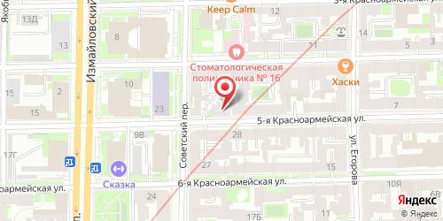 Ресторан Павлин, Санкт-Петербург, 5-я Красноармейская ул., 19