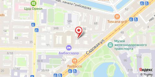 Суши-бар БарРокко, Санкт-Петербург, Римского-Корсакова пр., 3