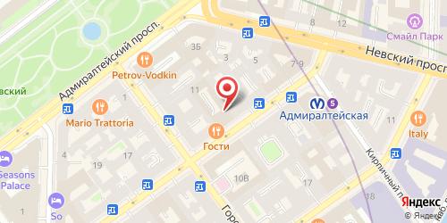 Ресторан Музыкальный бар 11, Санкт-Петербург, ул. Малая Морская, д. 11