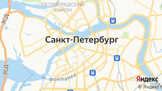 Карта автосервисов Санкт-Петербурга