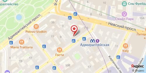 Кафе Буше, Санкт-Петербург, Малая Морская ул., 7