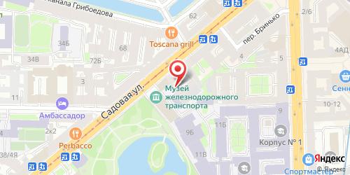Гранд-кафе Капуста, Санкт-Петербург, Садовая ул., 48