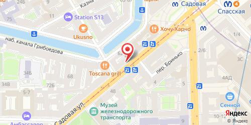 Ресторан Русские Забавы, Санкт-Петербург, Садовая ул., 45