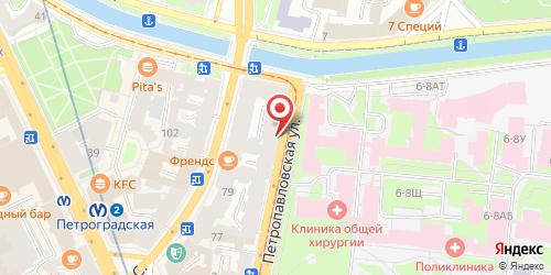Кафе Bla-Bla Bar, ул. Петропавловская, д.8