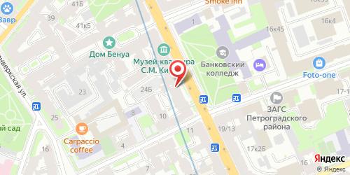 Ресторан Остров, Санкт-Петербург, Каменноостровский пр., 24