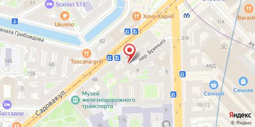 Кафе Маганд, Санкт-Петербург, Бринько пер., 6