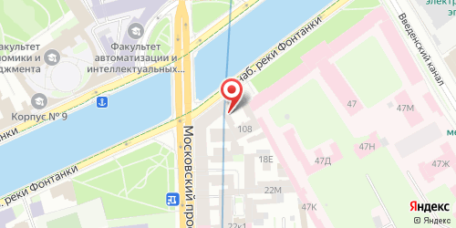 Клуб F 108 / Ф 108, Санкт-Петербург, Фонтанки реки наб., 108