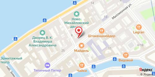 Ресторан 1001 ночь, Санкт-Петербург, ул. Миллионная, д. 21