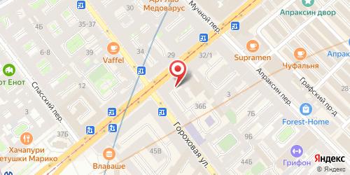 Кафе Шашлычная, Санкт-Петербург, Садовая ул., 36