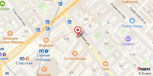 Бистро СтоLOVEка, Санкт-Петербург, Гороховая ул., 45