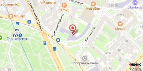 Кафе О' Кей, Санкт-Петербург, Кронверкский пр., 9