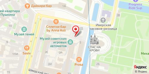 Клуб Duhless / Духлесс, Санкт-Петербург, Конюшенная пл., 2