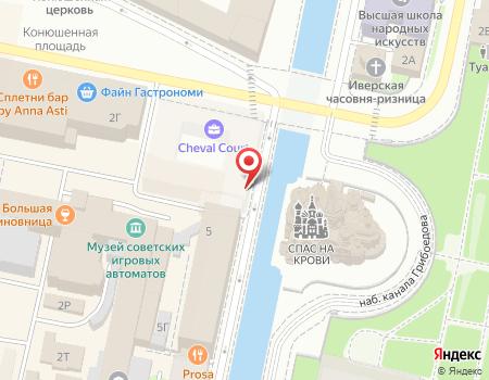 Схема расположения офиса турагентства «3 Колор Тур»