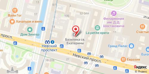 Ночной клуб Rafinad / Рафинад, Санкт-Петербург, Невский пр., 32 / 34 (вход под левую арку)