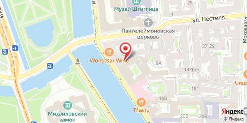 Банкетный зал Чиж, Санкт-Петербург, Фонтанки реки наб., 14