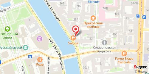 Ресторан Васаби, Санкт-Петербург, Фонтанки реки наб., 30