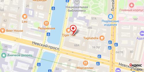 Ресторан Viva La Vita, Санкт-Петербург, наб. реки Фонтанки, д. 40