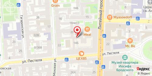 Кафе Месье Патиссье, Санкт-Петербург, Литейный пр., 21